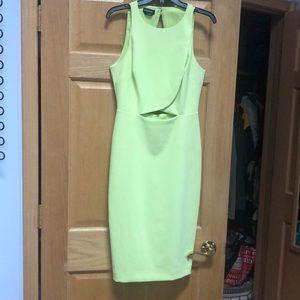 Midi BeBe dress, open back ✅ *WORN ONCE*